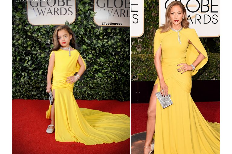 Tricia Messeroux replicates the red carpet looks during the 2016 Golden Globe awards