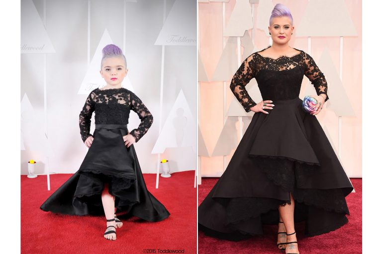 Tricia Messeroux recreates the red Carpet stars from the 2015 Oscars.